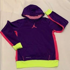 Nike Girl's Air Jordan Therma-fit Hoodie Xl